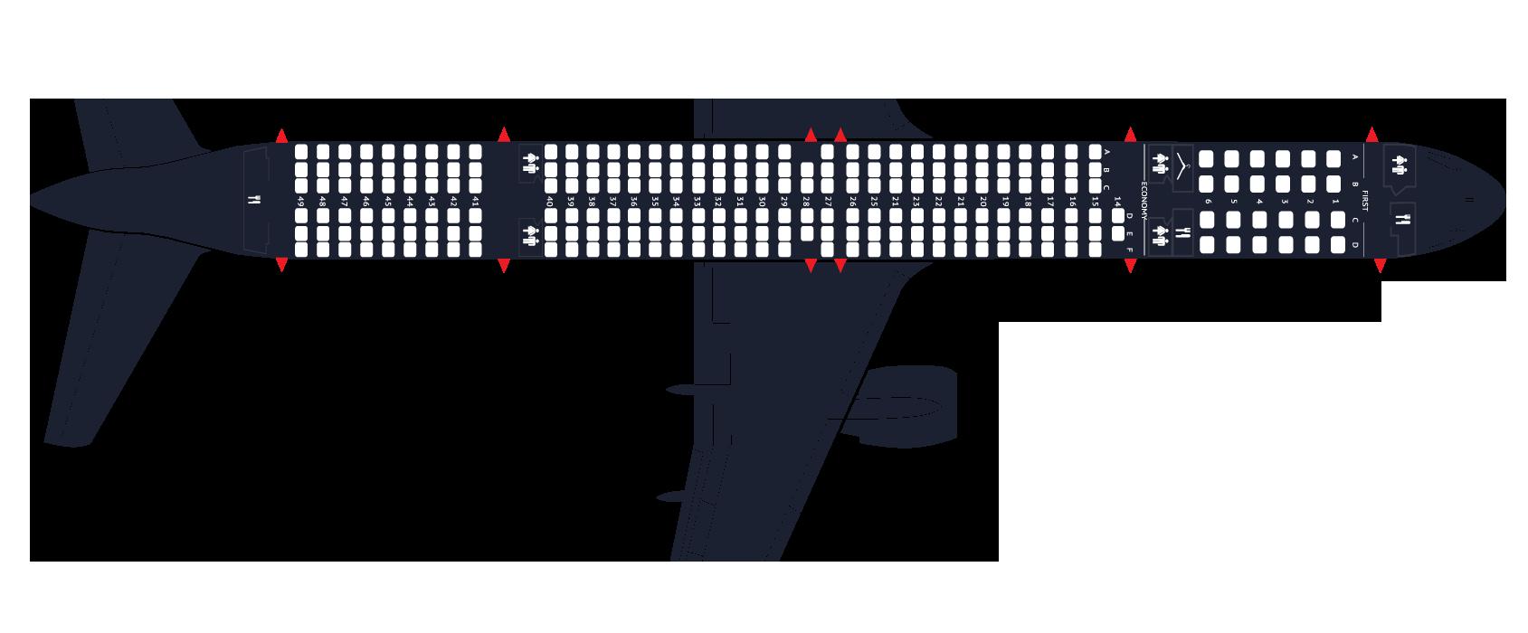 Boeing 757-200 yolcu uçakları